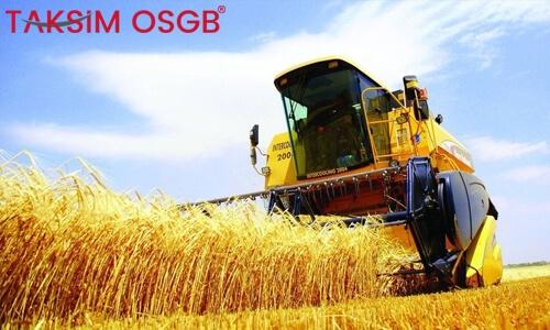Tarım Sektöründe İş Sağlığı ve Güvenliği İle İlgili Genel Bilgiler