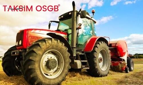 Traktör Kazalarının Nedenleri ve Uygulanamsı Gereken Kurallar
